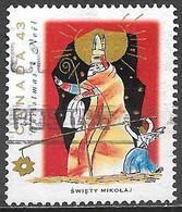 Canada 1993. Scott #1499 (U) Christmas, Swiety Mikolaj - Usados