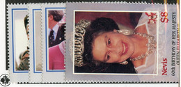 BC 7007 *Offers Welcome* 1986 Sc.472-75 Mnh** - St.Kitts And Nevis ( 1983-...)
