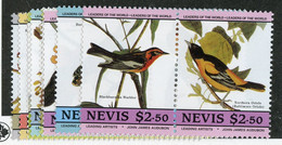 BC 7009 *Offers Welcome* 1985 Sc.407-14 Mnh** - St.Kitts And Nevis ( 1983-...)