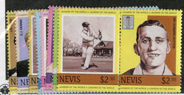 BC 7010 *Offers Welcome* 1984 Sc.383-90 Mnh** - St.Kitts And Nevis ( 1983-...)