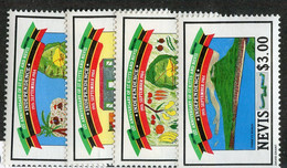 BC 7011 *Offers Welcome* 1984 Sc.379-82 Mnh** - St.Kitts And Nevis ( 1983-...)