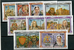 BC 7012 *Offers Welcome* 1984 Sc.258-66 Mnh** - St.Kitts And Nevis ( 1983-...)