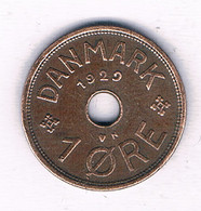 1 ORE 1929 DENEMARKEN /3355/ - Denmark