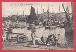 CPA-85-LES SABLES D'OLONNE Le Port - Bateaux De Pêche _Animation_ Ann.20 *Scan Recto/Verso - Sables D'Olonne