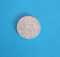 Old Coin, Used, From Indonesia 500 Rupiah, Year 2003 - Indonesia
