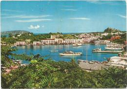 A5142 Isola D'Ischia (Napoli) - Porto D'Ischia - Panorama - Barche Boats Bateaux / Viaggiata 1968 - Andere Steden