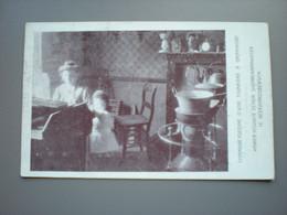 GEERAARDSBERGEN / GRAMMONT - CIGARIERE / SIGARENMAAKSTER - BEROEPEN / METIERS - EXPO DU TRAVAIL DOMICILE BRUXELLES 1910 - Geraardsbergen