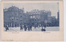 Amsterdam Sophiaplein Levendig ± 1901    2077 - Amsterdam