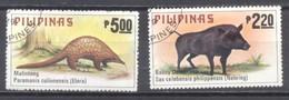 Filipinas,1979,animales,  Usados - Philippines