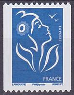Timbre Neuf ** N° 4159(Yvert) France 2008 - Marianne De Lamouche Philaposte Roulette, N° Noir Au Verso - 2004-08 Marianne (Lamouche)