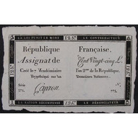 France, Assignat De 125 Livres , Série: 371, TTB - Assignats