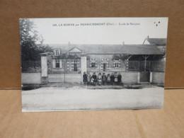HENRICHEMONT LA BORNE (18)  école De Garçons Animation - Henrichemont