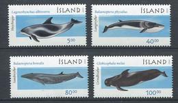 300 ISLANDE 2001 - Yvert 917/20 - Baleine Mammifere Marin - Neuf ** (MNH) Sans Charniere - Ungebraucht