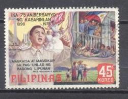 Filipinas,1975, Aniversario De La Independencia,  Usados - Philippines
