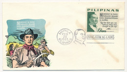 PHILIPPINES  => Enveloppe FDC => Mamuhay  Sa Isang - Manille - 28 Fev 1965 - Philippines