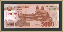 North Korea 5000 Won 2013 P-67 (67s) UNC - Korea, North