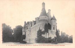 49-CHATEAU DE LA VILLE AU FOURIER ENVIRONS DE SAUMUR-N°2128-D/0261 - Autres Communes