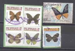 Filipinas, Mariposas,  Usados - Philippines