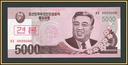 North Korea 5000 Won 2008 P-66 (66s) UNC - Korea, North