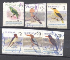 Filipinas, Aves,  Usados - Philippines