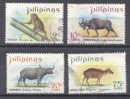 Filipinas, Animales,  Usados - Philippines