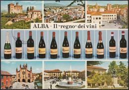 AD5488 Alba (CN) - Il Regno Dei Vini - Vedute - Cartolina Postale - Postcard - Cuneo