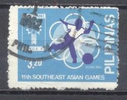 Filipinas,11º Juegos Del Sureste Asiatico,  Usados - Philippines