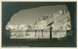 Grindelwald; Station Eismeer Und Blick Auf Fiescherhörner - Nicht Gelaufen. (Photo Suisse) - BE Berne