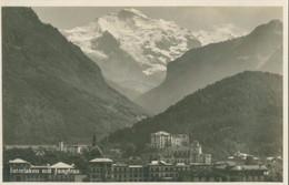 Interlaken Mit Jungfrau - Nicht Gelaufen. (Perrochet-Matile, Lausanne) - BE Berne