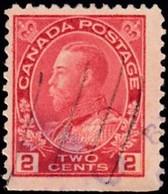 CANADA - Scott #106c King George V / Used Stamp - Usados