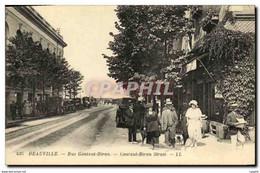 CPA Deauville Rue Gontaut Biron - Deauville