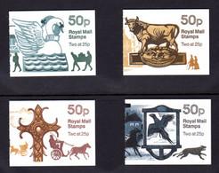 GRANDE-BRETAGNE 1994 - SG FB68/FB71 - Carnets Yvert C1710-3 - NEUF** MNH - 50p. Booklets - Coaching Inns Series - Markenheftchen