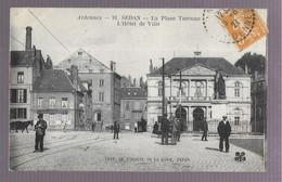 08 Sedan, La Place Turenne, L'hotel De Ville (5420) - Sedan