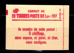 France Carnet 1972 C3 Sabine De Gandon Conf 8 Date 5.11.77 - Definitives