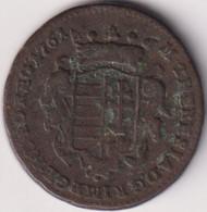 HUNGARY , DENAR 1761 - Hungary