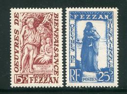 FEZZAN- Y&T N°54 Et 55- Neufs Sans Charnière ** - Unused Stamps