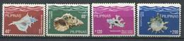 300 PHILIPPINES 1980 - Yvert 1209/12 - Coquillage - Neuf ** (MNH) Sans Charniere - Philippines
