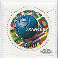 1998 Francia Yv 3139 Mundial Fútbol Fr. 98 V Deportes **MNH Perfecto Estado, Nuevo Sin Charnela  (Yvert&Tellier) - Ongebruikt