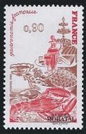1980 Francia Yv 2077 Gastronomía Francesa  **MNH Perfecto Estado, Nuevo Sin Charnela  (Yvert&Tellier) - Ungebraucht