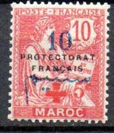 Maroc: Yvert N° 57*; Croix Rouge - Nuovi