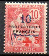 Maroc: Yvert N° 57**; MNH; Croix Rouge - Nuovi