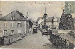 SAVENNIERES: Entrée Du Bourg - 3 LV Phot - Otros Municipios