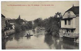 FRANCE - NEUVILLE-sur-SEINE - Un Coin Sur La Seine - 1928 - Otros Municipios