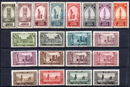 Maroc: Yvert N° 98/123*; 20 Valeurs - Nuovi