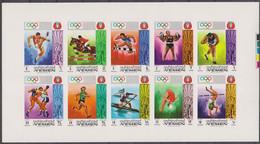 Olympics 1972 - YEMEN - Sheet Imp. MNH - Jemen