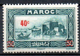 Maroc: Yvert N° 162* - Nuovi