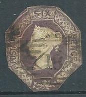 Grande-Bretagne YT N°5 Reine Victoria Oblitéré ° - Gebruikt