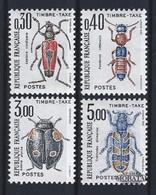 1983 France Yv 109/112 Taxe Insectes  **SC TTB Très Beau, Neuf Sans Charnière  (Yvert&Tellier) - 1960-.... Neufs