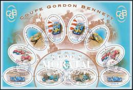 2005 France Yv HB/BF-86 Sport Automobile. Cup Gordon Bennett, Formula 1, The Rally Raid  (o) Oblitere TB Beau  (Yvert&Te - Afgestempeld