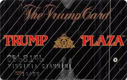 Trump Plaza Casino Atlantic City NJ 2nd Issue Slot Card Without Hologram Logo  ...[RSC]... - Tarjetas De Casino